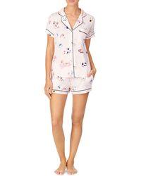 Kate Spade Short Pyjama Set - Pink