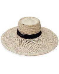 Inverni Panama Straw Hat - White