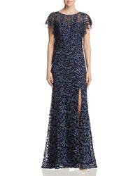 Decode 1.8 - Flutter - Sleeve Lace Gown - Lyst