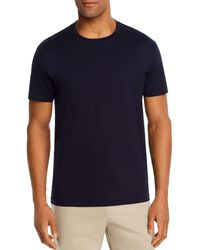 Bloomingdale's Pima Cotton Crewneck Tee - Blue
