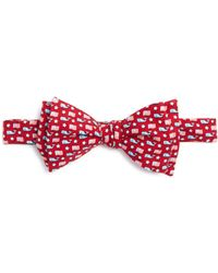 Vineyard Vines - Whale And Flag Bow Tie - Lyst