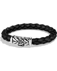 David Yurman - Chevron Bracelet In Black - Lyst
