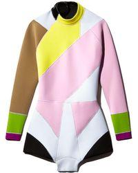 Cynthia Rowley Quincy Colorblock Wetsuit - Multicolour