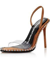 Alexander Wang Women's Nova Slingback High - Heel Sandals - Multicolor