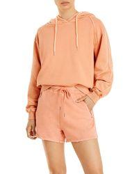 Blank NYC Hooded Sweatshirt - Orange