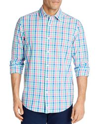 Vineyard Vines Orange Grove Cooper Classic - Fit Button - Down Shirt - Blue