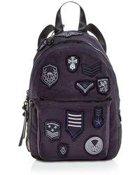 135894df13 John Varvatos Brooklyn Zip Backpack in Black for Men - Lyst