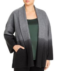 Eileen Fisher - Dip - Dyed Wool Jacket - Lyst
