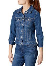 Jag Jeans Kiara Classic Jean Jacket In Greenwich - Blue