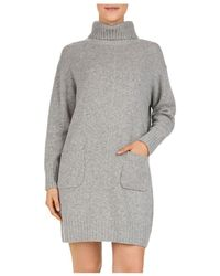 Gerard Darel - Dinah Wool & Cashmere Turtleneck Sweater Dress - Lyst