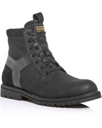 G-Star RAW G - Star Raw Men's Powell Y Lace - Up Boots - Black