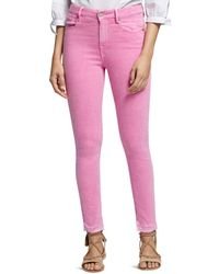 Sanctuary - Robbie High-rise Skinny Jeans In Washed Wild Cherry - Lyst