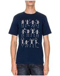 The Kooples - Dancing Skeleton Tee - Lyst