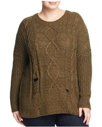 Lucky Brand - Portland Distressed Jumper - Lyst