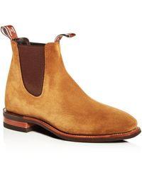 R.M. Williams - Men's Comfort Craftsman Suede Chelsea Boots - Lyst