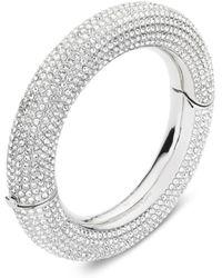 Atelier Swarovski X Christopher Kane Bolster Bangle Bracelet - Metallic