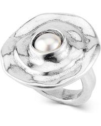 Uno De 50 Texcoco Ring - Metallic