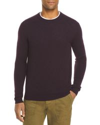 Bloomingdale's The Store At Bloomingdale's Cashmere Crewneck Sweater - Purple
