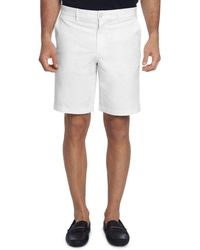 Robert Graham Ridge Classic Fit Shorts - White