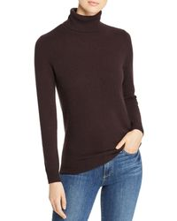 C By Bloomingdale's Cashmere Turtleneck Sweater - Brown