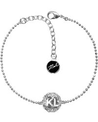 Karl Lagerfeld Karl Star Sphere Bracelet - Metallic