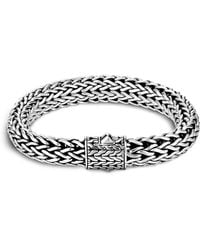 John Hardy - Men's Sterling Silver Large Chain Bracelet - Lyst