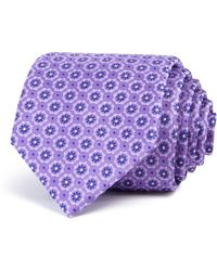 Bloomingdale's - Floret Circles Neat Classic Tie - Lyst