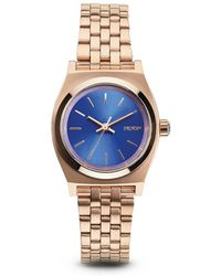 Nixon The Small Time Teller Watch - Pink