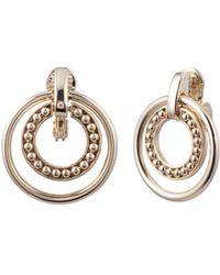 Ralph Lauren - Lauren Orbital Clip-on Hoop Earrings - Lyst