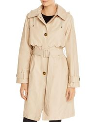 Kate Spade Belted Trench Coat - Natural