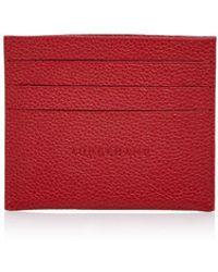 Longchamp - Le Foulonne Card Case - Lyst