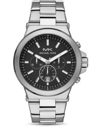 Michael Kors - Oversized Dylan Silver-tone Watch - Lyst