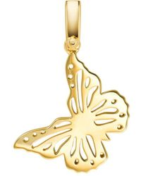 Michael Kors - Butterfly Charm In 14k Gold - Plated Sterling Silver - Lyst