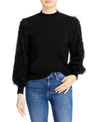 Sioni Mixed Media Sweater (66% Off) ? Comparable Value $118 - Black