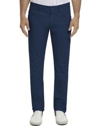 Robert Graham Seaton Twill Classic Fit Trousers - Blue