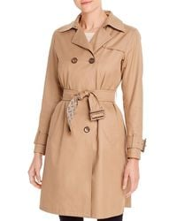 Herno Double - Breasted Trench Coat - Natural