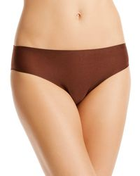 Chantelle Soft Stretch One - Size Bikini - Brown