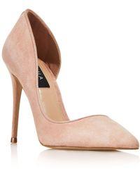 Aqua Women's Dion Half D'orsay High - Heel Court Shoes - Multicolour