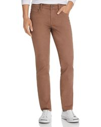 Liverpool Jeans Company Kingston Straight Slim Fit Jeans In Cub - Brown