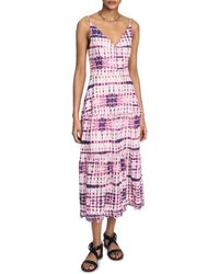 10 Crosby Derek Lam - Samaria Tiered Cami Dress - Lyst