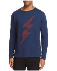 Vestige Lightning Bolt Crewneck Sweatshirt - Blue