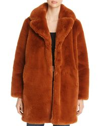 Mkt Studio Masolin Faux - Fur Jacket - Brown