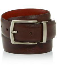 Trafalgar - Men's Reversible Leather Belt - Lyst