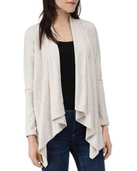 B Collection By Bobeau Amie French Terry Cardigan - Multicolour