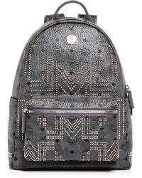 MCM - Stark Gunta Medium Studded Backpack - Lyst