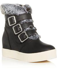 J/Slides Spat Boot Black Waterproof Leather