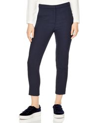 Sandro - Andy Cropped Straight - Leg Pants - Lyst