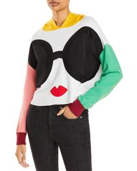 Alice + Olivia - Oscar Stace Face Color Blocked Hoodie - Lyst