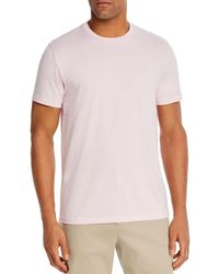 Bloomingdale's Pima Cotton Crewneck Tee - Pink