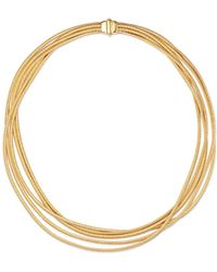 Marco Bicego - 18k Yellow Gold Cairo Multi - Strand Collar Necklace - Lyst